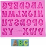 Mould - Alphabet Uppercase (Groovy)