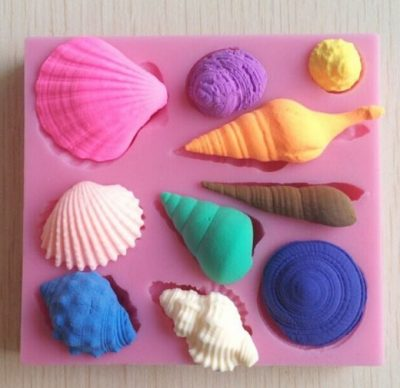 Silicone Mould (Shells 2)